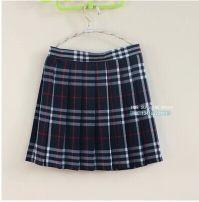 skirt Spring 2013 4XL,XL,L,M,S,XS,XXXL,XXL College black and white pleated skirt Short skirt Sweet Pleated skirt lattice Button princess