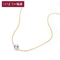 Neckwear подвеска AKoya Bai Zhu белый 18K золотая цепочка AKoya Bai Zhu Huang 18K золотая цепь классический мода рекомендуемый AKoya белый бисер 18K rose gold цепь Морской жемчуг круглый Гарантия магазина другое Золотая инкрустация Gold / K Хайди 5.5-6mm6-6.5mm7-7.5mm6.5-7mm7.5-8mm HDNP150012 нет