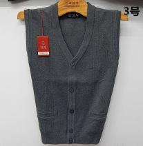 Vest / vest Business gentleman Others 1, 2, 3, 4, 5 Home Self cultivation Woolen vest routine V-neck 2018 Single breasted