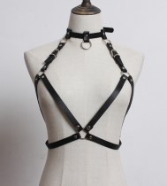 Belt / belt / chain Pu (artificial leather) black