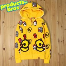 Sweater / sweater Winter 2015 Yellow (thin without velvet) 155-165 thin Long sleeves routine Cardigan singleton  routine Hood easy street raglan sleeve 18-24 years old 71% (inclusive) - 80% (inclusive) Other / other cotton Cotton liner zipper