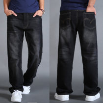 Jeans Fashion City Sacnu Thirty Dark blue / 1017 routine No bullet Regular denim Six hundred and nine Cotton 65% polyester 35% Autumn 2016 Pure e-commerce (online only)