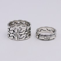 Ring / ring Silver ornaments 51-100 yuan Other / other brand new goods in stock Europe and America lovers Fresh out of the oven other 925 Silver