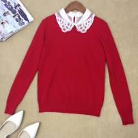Wool knitwear Autumn 2016 Average size White, black, red wool 81% (inclusive) - 90% (inclusive) zz002