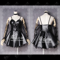 Cosplay women's wear skirt Customized Over 14 years old Skirt suit (no socks) message size customization, [Stock] suspender socks (suspender + socks), [book a week] suspender socks (suspender + socks) comic One size fits all The God of mushroom Death note Mihaisha