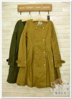 Windbreaker Winter 2017 M,S,L Army green, tawny Long sleeves routine Medium length Other / other WMY14001 Make old 96% and above cotton