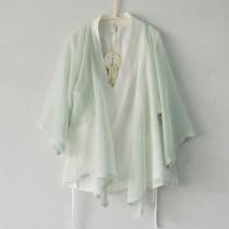 jacket Spring 2017 Light green pink + white light green (pre-sale) pink + white (pre-sale) S M L XL Y149 Early Han Dynasty