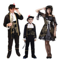 Clothes & Accessories Flying Halloween Pirate Captain Captain Hook's family dress nothing