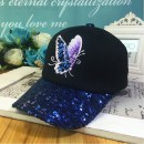 Hat Cotton polyester Adjustable Baseball cap Spring summer autumn winter female street Youth dome Wide eaves Embroidery Shopping other ZR006