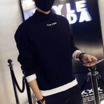 Sweater Youth fashion Mafuti white 3XL routine E-commerce a088.. w609 Cotton polyester Cotton 95% polyurethane elastic fiber (spandex) 5% Winter 2016 Pure e-commerce (online only)