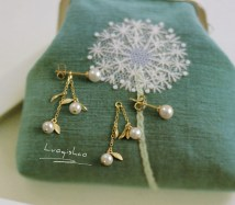 Earrings Silver ornaments 101-200 yuan Other / other No return or exchange in stock 925 Silver