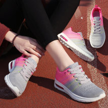 Low top shoes three hundred and fifty-three billion six hundred and thirty-seven million three hundred and eighty-three thousand nine hundred and forty Fulaihong Grey Pink Black Grey Pink Purple Round head Flat bottom cloth Deep mouth Low heel (1-3cm) cloth Spring 2017 Frenulum leisure time cloth
