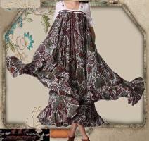 Dress Winter of 2019 Decor Average size Mid length dress Short sleeve commute V-neck Loose waist Decor ethnic style Lotus leaf edge 31% (inclusive) - 50% (inclusive) other cotton