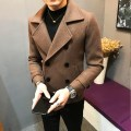 Jacket Other / other Fashion City routine Self cultivation Other leisure winter Long sleeves Lapel tide Straight hem Solid color