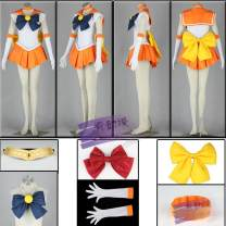 Cosplay women's wear Other women's wear goods in stock Over 3 years old Female XXS, female XS, female s, female m, female L, female XL, female XXL, female XXXL Animation, original, film and television Average size Show animation Lovely style, campus style Sailor Moon Miyako Ono Sailor Moon