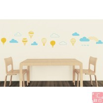Ceramic tile / glass paste 1 tablet large Zhang Cartoon animation Huixiangyun Simple and modern
