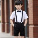 Children's dress male [90 small] [100 code] [110 code] [120 code] [130 code] [140 code] [150 code] [160 code] [170 code] Whitte Prince / Prince white full dress htwz01 Class B Polyester 80% viscose 20% Summer of 2018