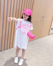 T-shirt T skirt Other / other 90cm,100cm,110cm,120cm,130cm,140cm,150cm,160cm,165cm,170cm female wool letter Other 100% 7 years old, 8 years old, 12 months old, 3 years old, 6 years old, 18 months old, 2 years old, 5 years old, 4 years old, 10 years old, 9 years old Chinese Mainland