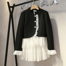 Cosplay women's wear jacket goods in stock Over 14 years old Black coat + skirt comic M,L,S Other / other See description 1