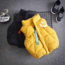Vest male Yellow, black Other / other winter Plush No model zipper other Cartoon animation Other 100% 12 months