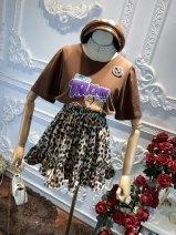 Fashion suit Summer 2021 Average size Two piece set cotton