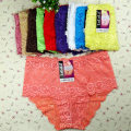 underpants female Orange white red gray green black complexion Brown Pink Oversized 3XL XXL Other / other 1 Bamboo charcoal fiber Briefs middle-waisted middle age
