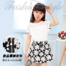 Dress white Cloth clothes Miaomiao house female 110cm 120cm 130cm 140cm 150cm 160cm Cotton 100% Korean version Class B
