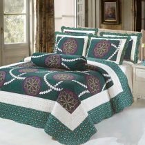 Bed cover cotton AZY 230cmx250cm one piece set 230cmx250cm two piece set 230cmx250cm three piece set Solid color Take a message First Grade