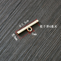 buckle Alloy / silver / gold RMB 1.00-9.99 One straight gold, one light gold, one silver brand new