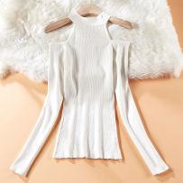 Wool knitwear Autumn of 2018 Average size Coffee 2958-93 white 2958-93 gray 2958-93 black 2958-93 Long sleeves singleton  Socket other Regular routine