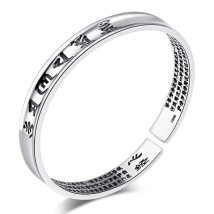Bracelet other 10-19.99 yuan Other / other Thai silver black silver brand new Japan and South Korea Custom made female all sorts of strange things Not inlaid Cross / crown / Roman numerals Heart Sutra Bracelet