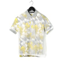 T-shirt Youth fashion Yellow blue routine 46 48 50 52 54 56 58 9 Charms Short sleeve Lapel standard Other leisure summer 9m routine 2018