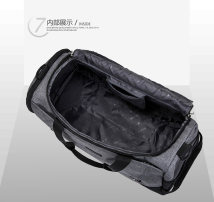 Travel bag nylon nothing Other / other Grey rose red black sky blue large leisure time Single root nylon
