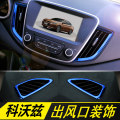 Car interior patches / stickers Wlk  Kowoz Air outlet Metal