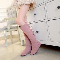Boots 33 34 35 36 37 38 39 40 41 42 43 Brown brown (fine textured) pink (fine textured) yellow (fine textured) black (fine textured) Yellow Black Pink PU Li XiuXiu Flat heel (1cm or less) Flat heel PU Middle cylinder Round head PU PU Spring 2016 Posterior frenulum college rubber Solid color Frosting