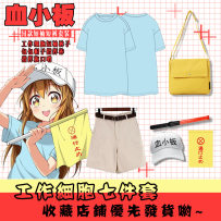 Cartoon T-shirt / Shoes / clothing T-shirt Over 8 years old Working cell platelet goods in stock S M L XL XXL XXXL No season Japan currency Animation wings Leisure and lovely art Japanese style simple street cotton