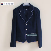 suit Spring 2015 Heirs - male coat heirs - female coat S M L XL 2XL 3XL Long sleeves tailored collar Single breasted Sweet 18-24 years old other Pocket button