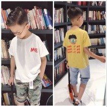 T-shirt Yellow off white Other / other 110cm / 110 yards 120cm / 120 yards 130cm / 130 yards 140cm / 140 yards 150cm / 150 yards 160cm / 160 yards neutral summer Short sleeve Crew neck Korean version There are models in the real shooting nothing cotton other Cotton 90% other 10% --