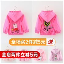 Plain coat Other / other female 80cm 90cm 100cm 110cm spring and autumn leisure time Zipper shirt There are models in the real shooting routine No detachable cap Cartoon animation cotton Crew neck Cotton 85% polyester 15% Class B