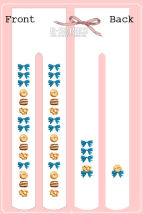 Socks / base socks / silk socks / leg socks female Totoro Average size Graph color 8 pairs