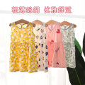 Dress White love , Green flowers , Love strawberry , Yellow flowers female Hobby Size 90 (recommended height about 80cm) , Size 100 (recommended height about 90cm) , 110 yards (recommended height is about 100cm) , 120 yards (recommended height is about 110cm) Cotton 95% other 5% summer Korean version