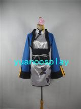 Cosplay women's wear skirt Customized Over 8 years old Full set (cheongsam, coat, belt, headdress) comic Tailor made nothing Japan Black deacon Blue cat nothing