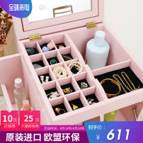 Dresser / table adult no White pink 2 doors Japanese  manmade board Yue Mao Pack up Pack up one thousand three hundred and twenty-five yes no Pack up yes overseas manmade board Zero point one yes