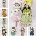 BJD doll zone Dress 1/6 Over 6 years old goods in stock Suitable for some 30 cm fat baby