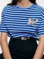 T-shirt stripe S,M,L cotton 96% and above