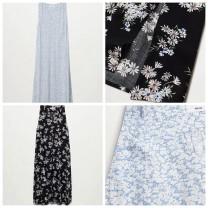 Dress Spring 2021 Black, blue XS,S,M,L,XL