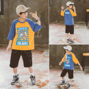 T-shirt Yellow blue Babybody 120cm 130cm 140cm 150cm 160cm 170cm male other other Other 100% X21118T 8 years old
