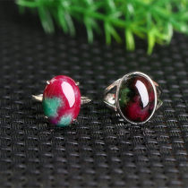 Ring / ring Mixed materials 51-100 yuan Donghai crystal All in red and green brand new goods in stock female other Ruby