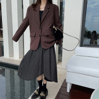 skirt Summer 2020 S, M Black (stock) Solid color 25-29 years old other Other / other