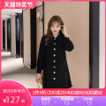 Women's large Summer 2020 Qisuo black long sleeve red long sleeve red short sleeve black short sleeve purple short sleeve L XL 2XL 3XL 4XL 5XL Dress singleton  commute easy moderate Cardigan Long sleeves Solid color Korean version Polo collar shirt sleeve Dancing 25-29 years old Button 96% and above